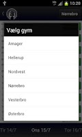 Screenshot of Copenhagen Booking App