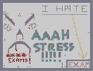 Thumbnail of the map 'Those darn stressful exams!'