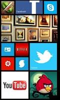 Screenshot of Fake Windows Phone 8
