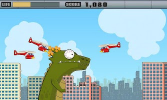 Screenshot of Tapzilla Alpha