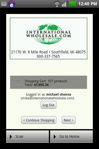【免費商業App】International Wholesale App-APP點子