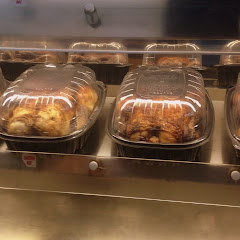 Organic and Natural Free Range roasted chickens