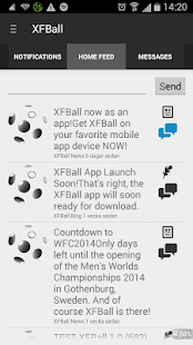XFBall - screenshot