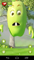 Screenshot of Talking Green Apple