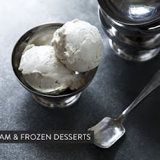 Gingery Black Plum Ice Cream