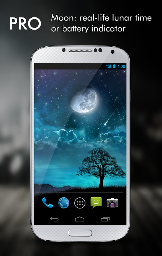 Dream Night Pro Live Wallpaper Screenshot 2