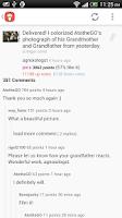 Screenshot of Reddit ET