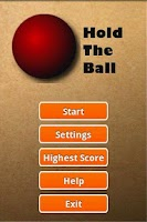 Screenshot of Hold The Ball