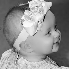 by Michael Provenzano - Babies & Children Babies ( babies, black and white, baby girl, baby,  )