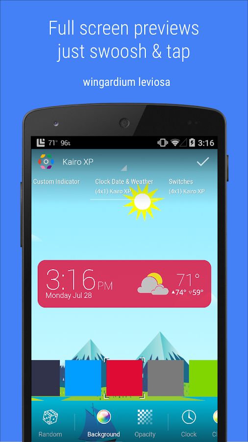 HD Widgets Screenshot 1