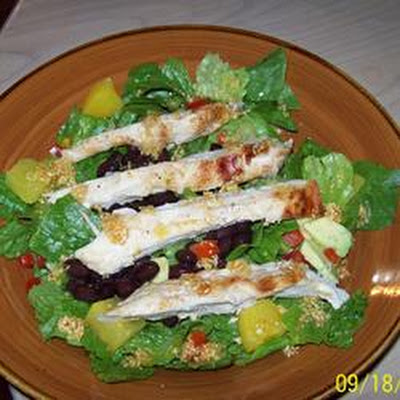 Cuban Grilled Chicken Salad