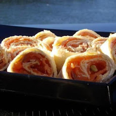 Smoked Salmon & Cream Cheese Swirls