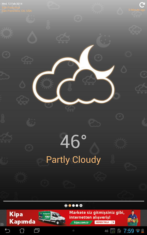 Weather Clock Screenshot 11