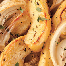 Thyme-Roasted Apples and Onions