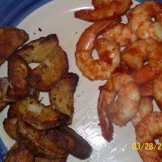 Homemade Barbecue Shrimp Appetizer