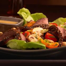 Lean Steak and Mushroom Salad
