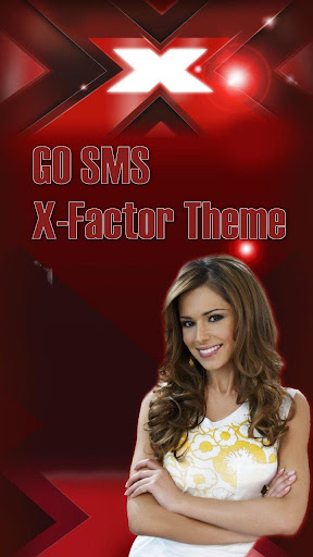 GO SMS PRO X Factor Theme