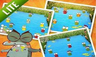 Screenshot of Whack The Frog Lite