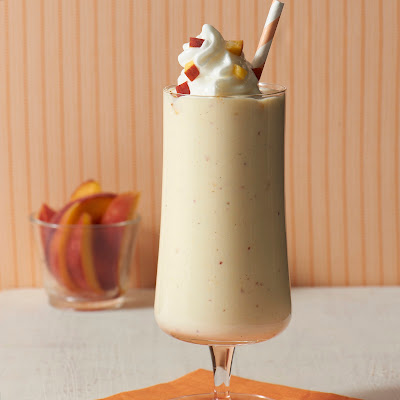 Frosty Peaches 'N Cream Milkshakes