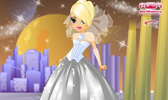 Screenshot of Dress Up! My Wedding