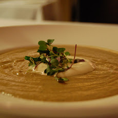 Cream of Gruyere and Chardonnay Soup