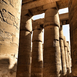 Temple of Karnak, Luxor by Ludwig Wagner - Instagram & Mobile iPhone