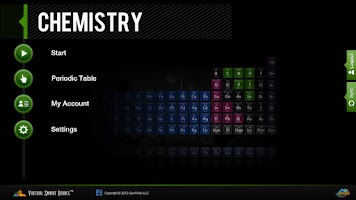 Screenshot of VSB Chemistry