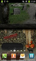Screenshot of Scary Cemetery PRO LWP