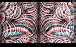 Screenshot of Crazy Trippy Live Wallpaper