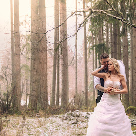 by Alicia Clifford - Wedding Bride & Groom