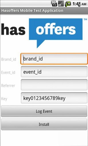 HasOffers Mobile Testing App