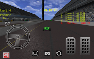 Screenshot of Samba Racer