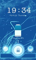 Screenshot of Go Locker Blue Chill Theme