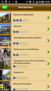 Leiden Offline Map Guide - screenshot