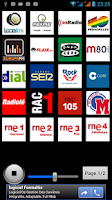 Screenshot of Radios España