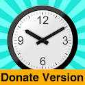 Office Analog Clock - Donate icon