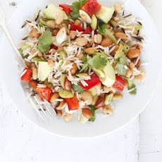 Mexican Rice & Bean Salad