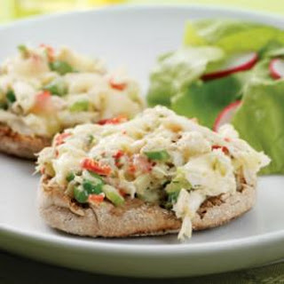 Crab Salad Melts
