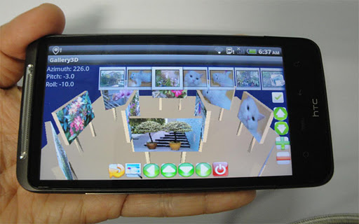 Gallery3D for SamsungGalaxyS