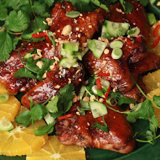 Spicy Lacquered Chicken Wings