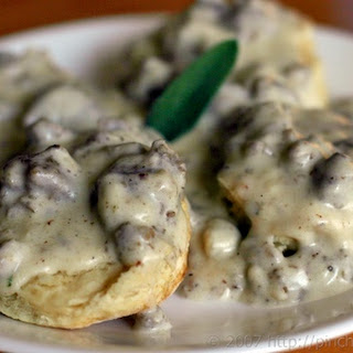Sausage and Sage Cream Gravy