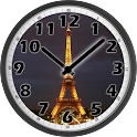 Tour Eiffel Night Clock icon