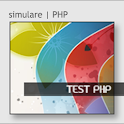 test curs php icon