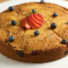 Strawberry-Blueberry Buttermilk Cake