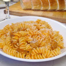 Creamy Roasted Red Pepper Pasta With Sausage