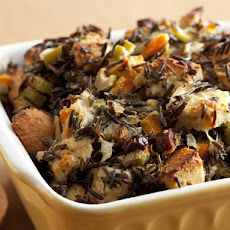 Wild Rice and Goat Cheese Dressing