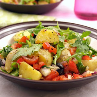 Peppery Crunch Potato Salad