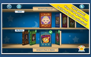 Screenshot of Grimm's Bookshelf