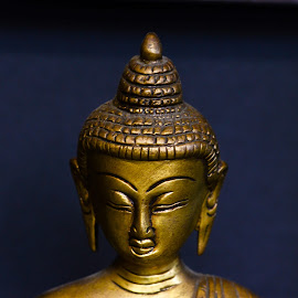 Buddha by Prasanta Das - Artistic Objects Antiques ( bronze, budhha, antique )
