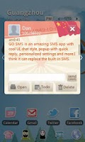 Screenshot of GO SMS Pro China National Day